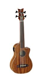 Ortega Caiman FL GB ukulele basowe
