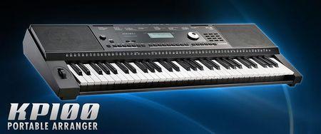 KURZWEIL KP 100 - keyboard, aranżer (1)