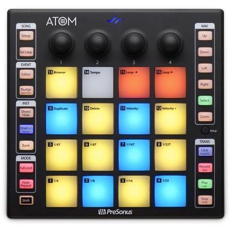 PreSonus ATOM – Kontroler USB/MIDI (1)