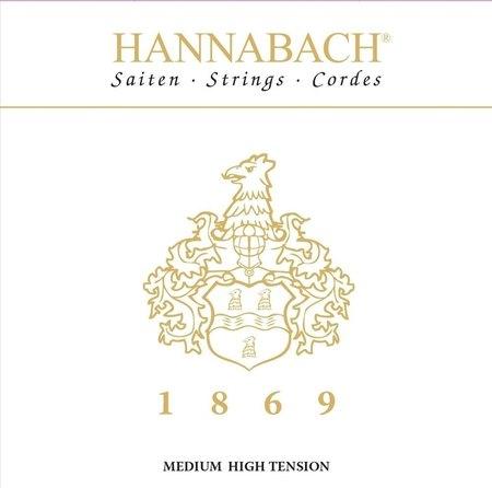 HANNABACH STRUNY DO GITARY KLASYCZNEJ SERIA 1869 CARBON/GOLD MHT (1)
