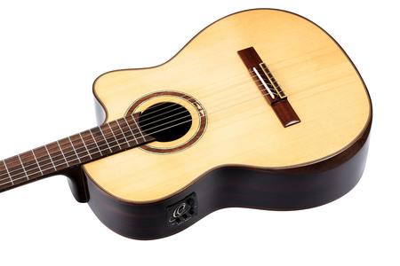 Ortega STRIPEDSU.C/E - Gitara elektroklasyczna (10)