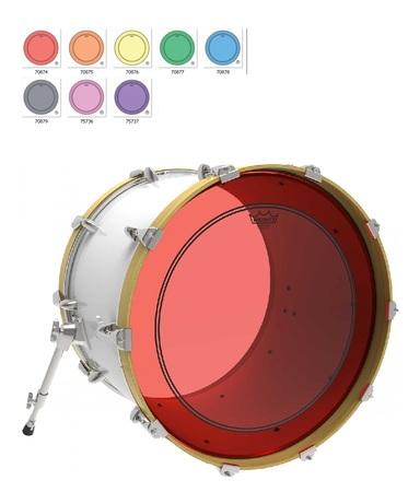 Remo Naciągi Colortone Powerstroke 3 clear (1)