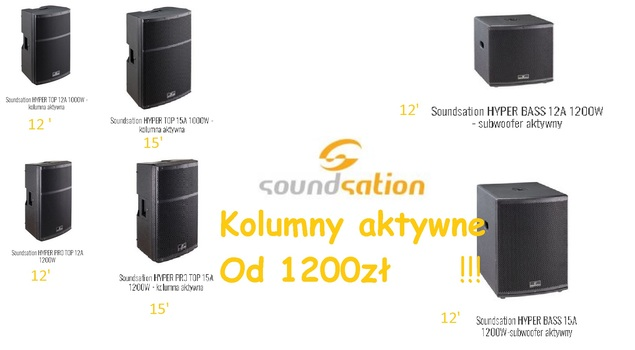 Kolumny soundsation